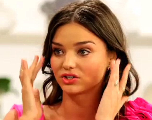 Wide Eyed: Miranda Kerr Has Revealed That She Uses A Spoon To Curl Her