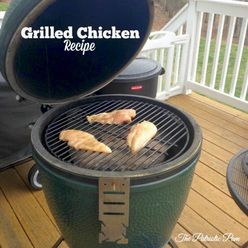 Big Green Egg Grilled Chicken