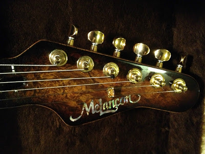 Melancon Guitars Headstock