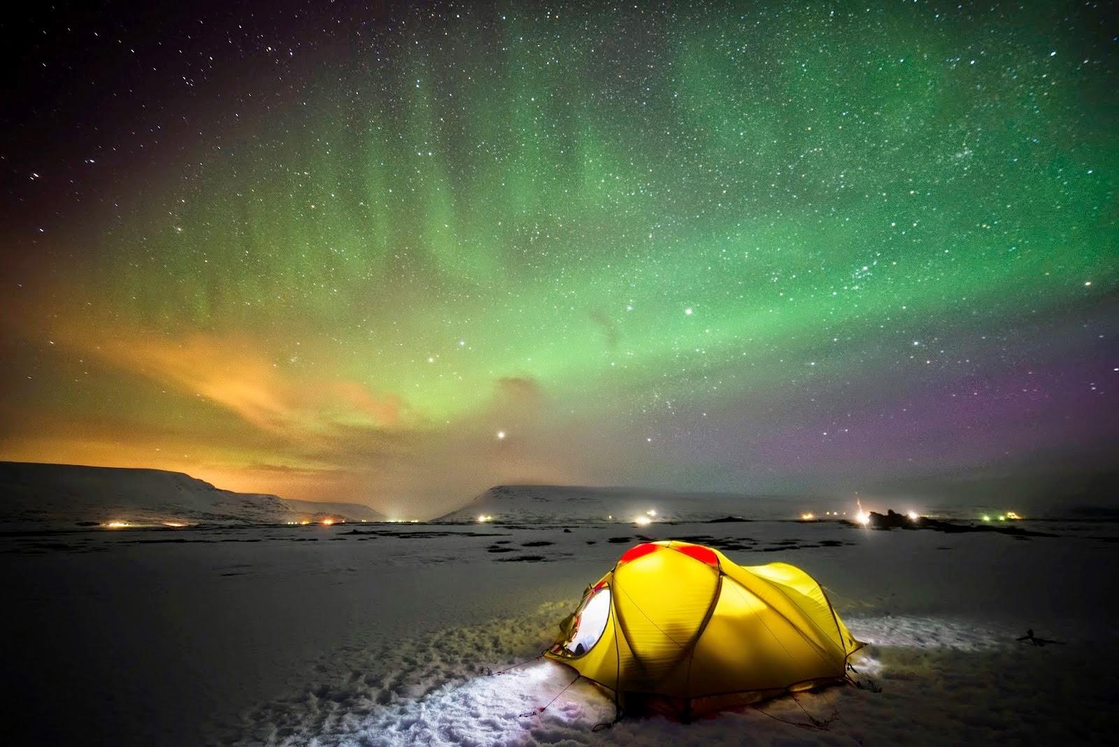 Camping en Islandia