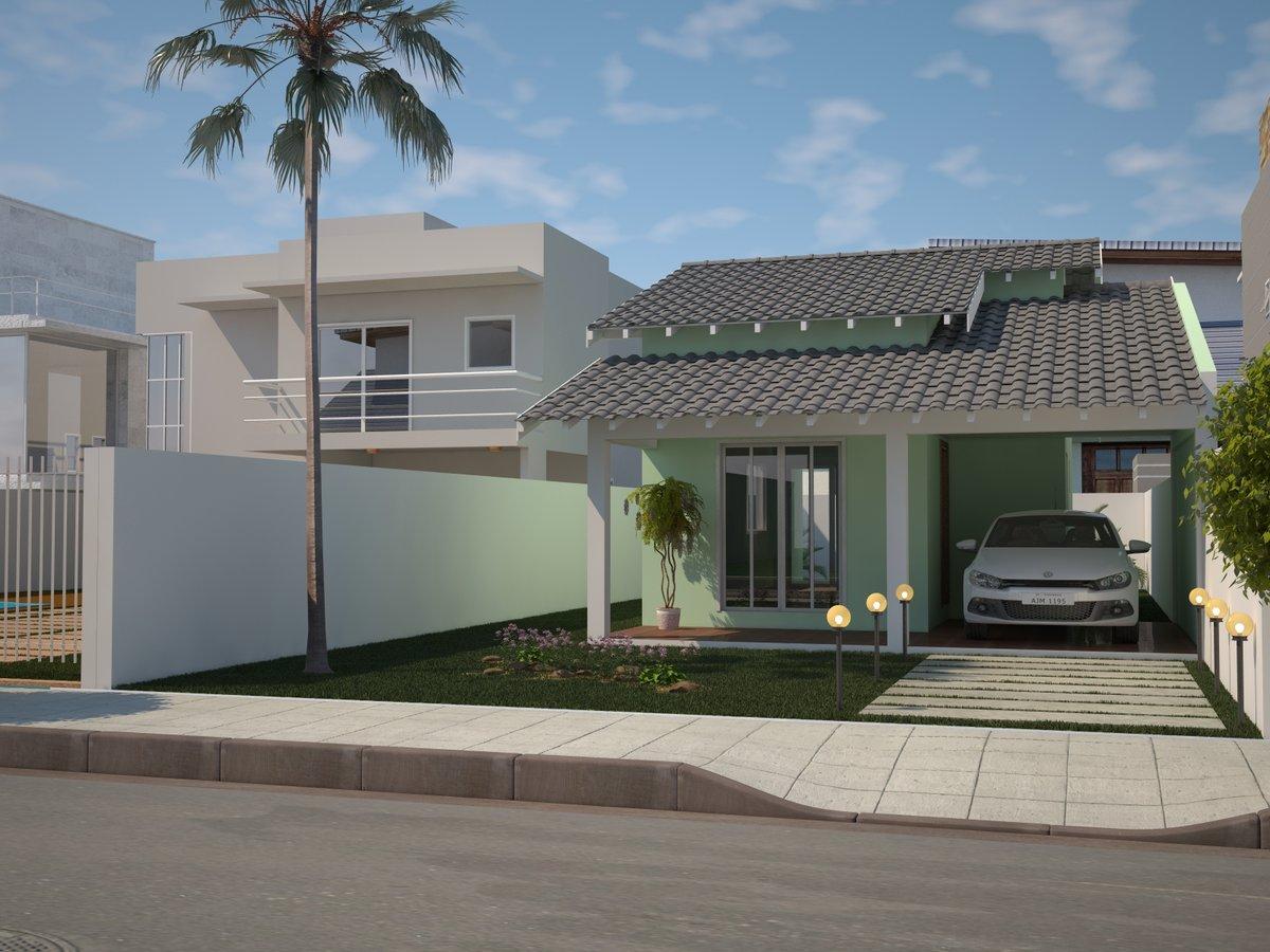 Um pouco de tudo modelos de casas lindas for Fachadas de casas modernas gratis