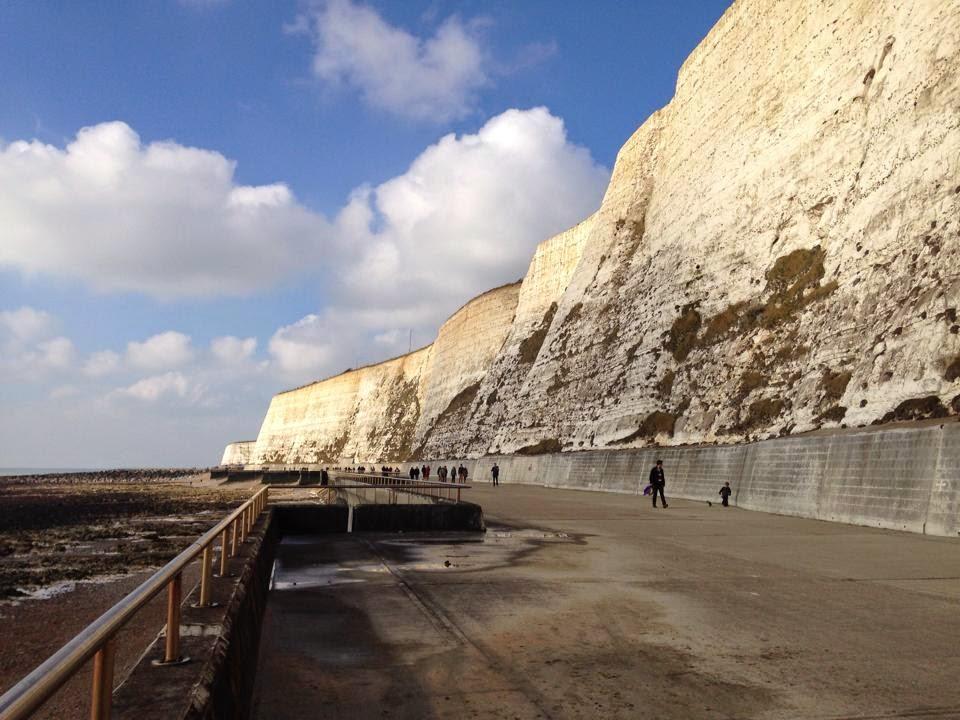 Undercliff walk - Brighton - copyright Tess Agnew