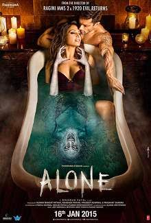 Alone (2015) Hindi Movie Poster