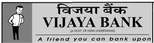 Vijaya Bank Recruitment April 2013