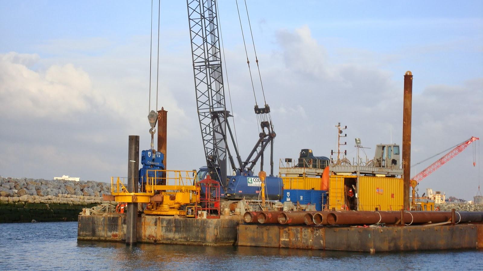 travaux port lr minimes  novembre 2013