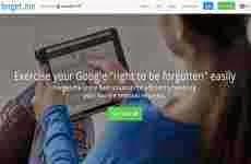 """Forget.me: la mejor solución para borrar datos de Google y acceder al """"derecho al olvido"""""""