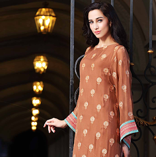 Bareeze Chiffon Dresses for Women 2015
