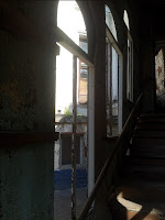 Институт Хирургии имени Вишневского на Большой Серпуховской - старый административный корпус, вид лестницы изнутри