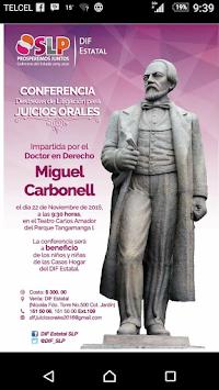 CONFERENCIA DEL DR. MIGUEL CARBONELL