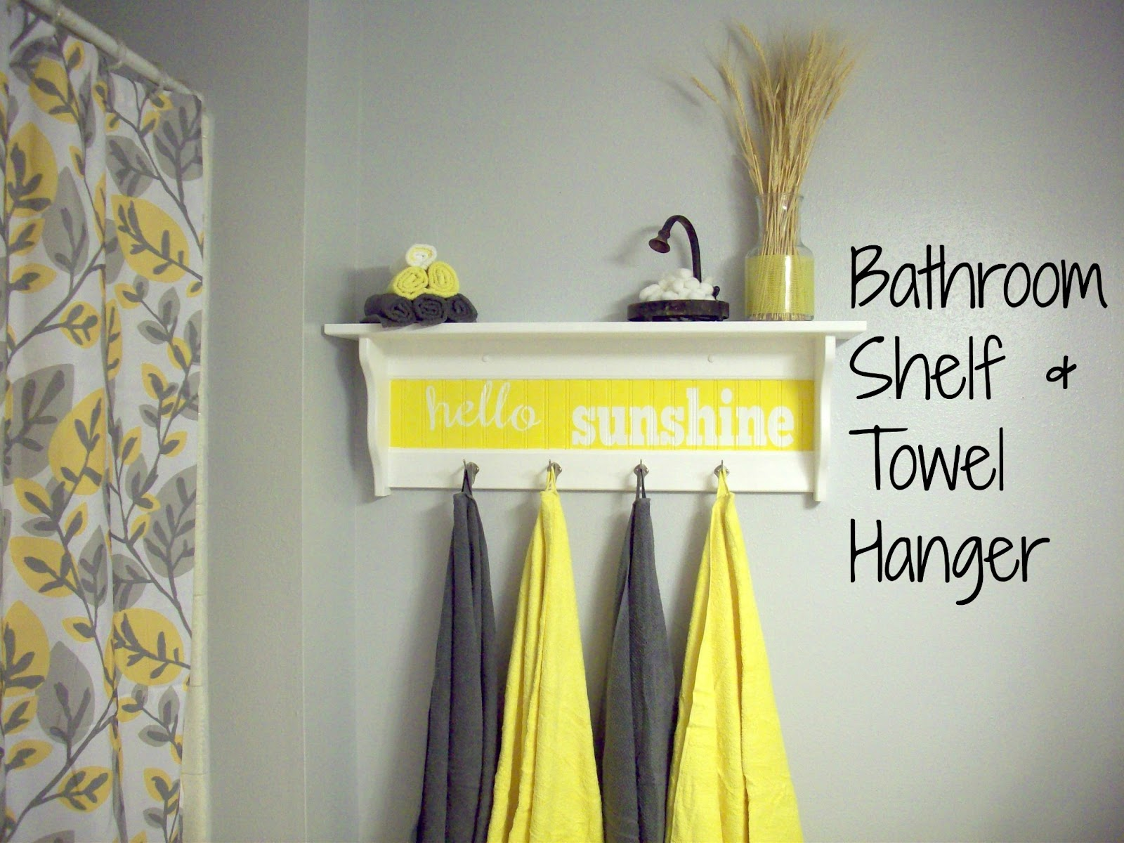 Plain Bathroom Yellow And Gray Modern Home Bathrooms To Design ...