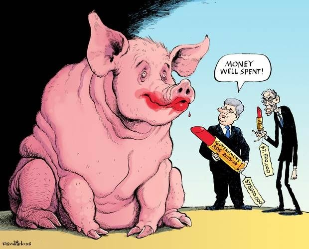 David Parkins: Lipstick on a Pig.