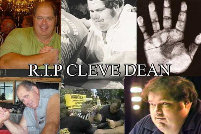 The hand of armwrestler legend Cleve Dean! R.I.P.+cleve+dean