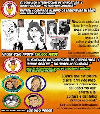 Jornada de caricatura en línea pro fondos Noticias de Cartoon Colombia 2019