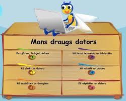MANS DRAUGS DATORS