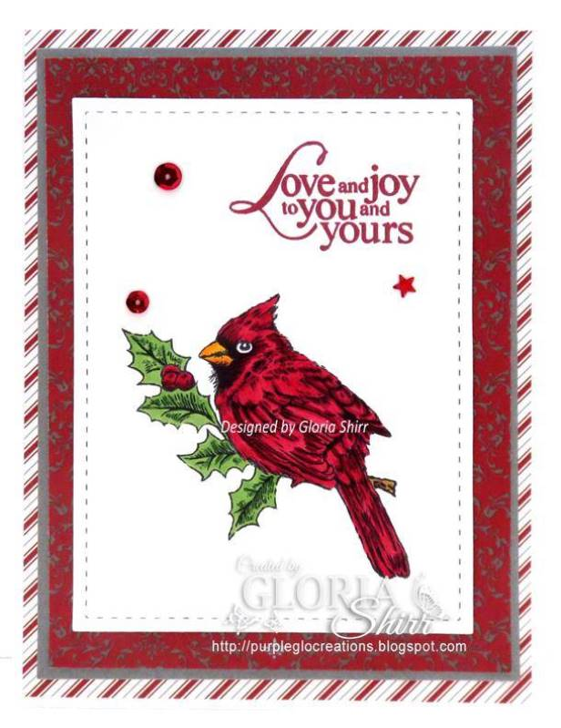 Featured Card at Little Red Wagon Challenge