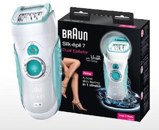 Test Braun Silk-épil 7 Dual Epilierer Schmerzen Rasieren Beine