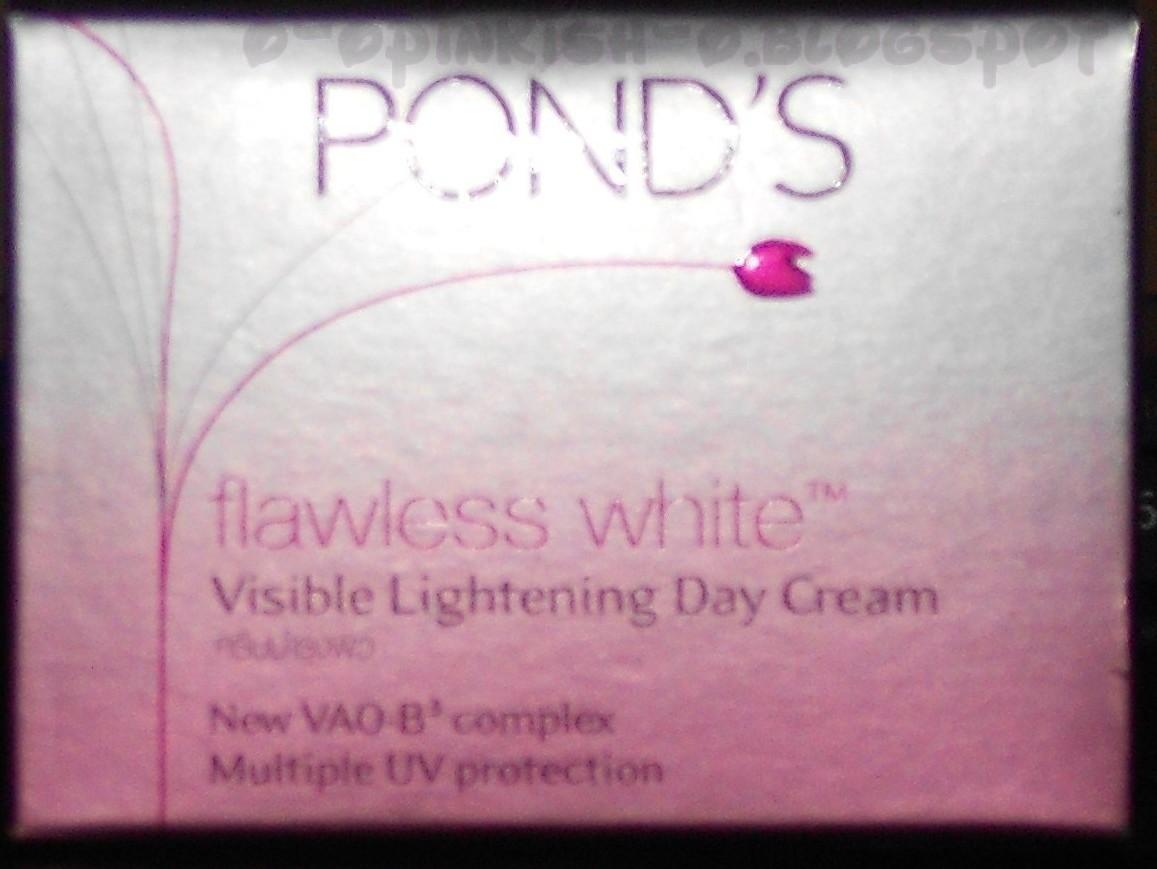 Pikh Glow Ponds Flawless White Visible Lightening Day Cream Daily Moist 50g