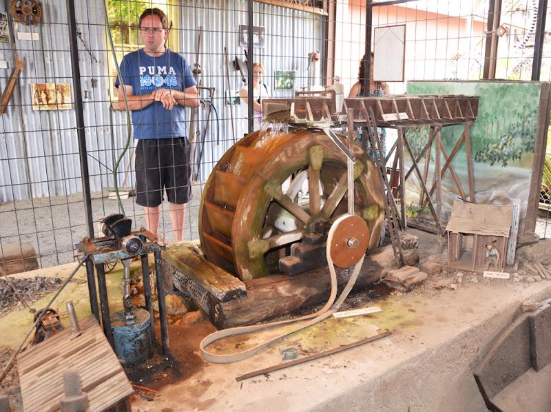 Water Wheel Model School Project a Working Model Water Wheel