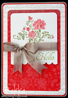 Hello Fresh Vintage Sale-a-Bration Card