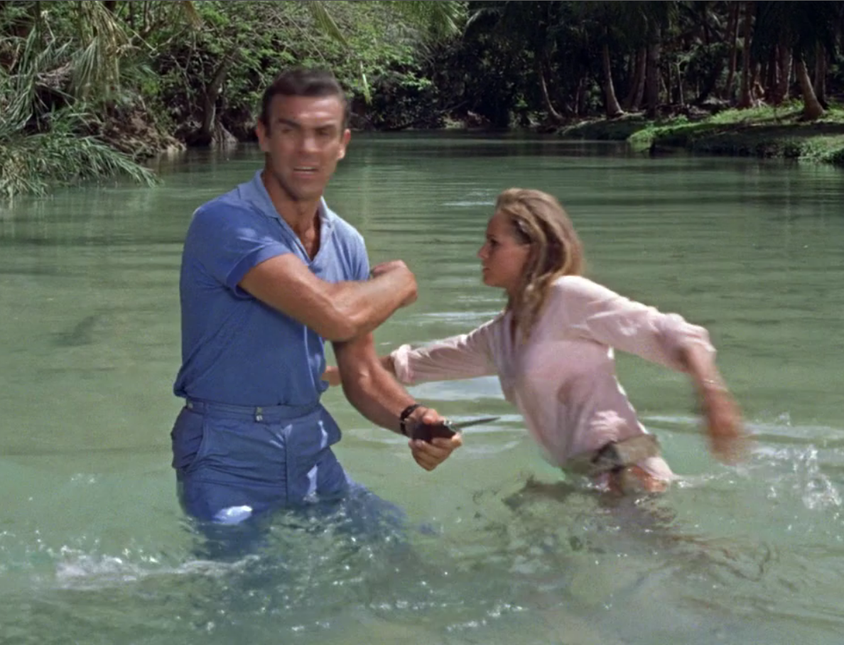Crab Key Island Wear: A Polo in Dr. No – The Suits of James Bond