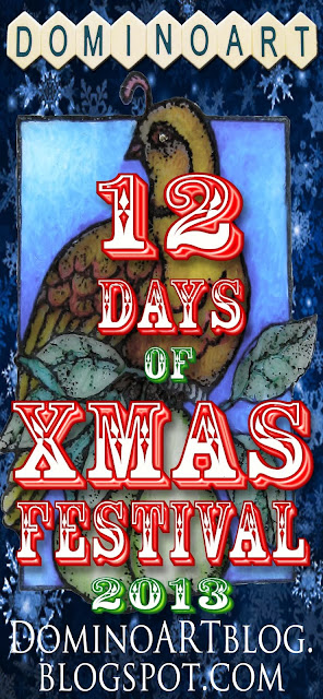 DominoART's 12 Days of Xmas Festival 2013 started Dec 1st!