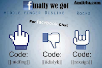 How To Send Dislike,Mid Finger &amp; Rocking Sign In Chatbox