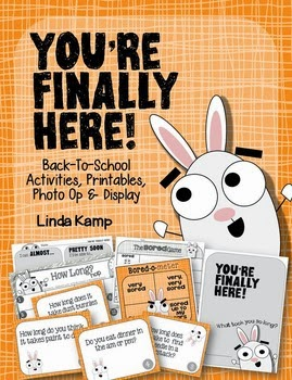 http://www.teacherspayteachers.com/Product/Youre-Finally-Here-Back-To-School-Activities-and-Bulletin-Board-1385006