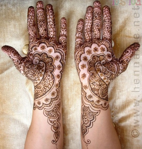 Rajasthani Mehndi Designs ~ All About