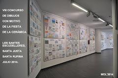 EXPOSICIÓN EN EL MUMAF DEL 10 AL 28 DE JUNIO DE 2014, SOBRE LA CERÁMICA.