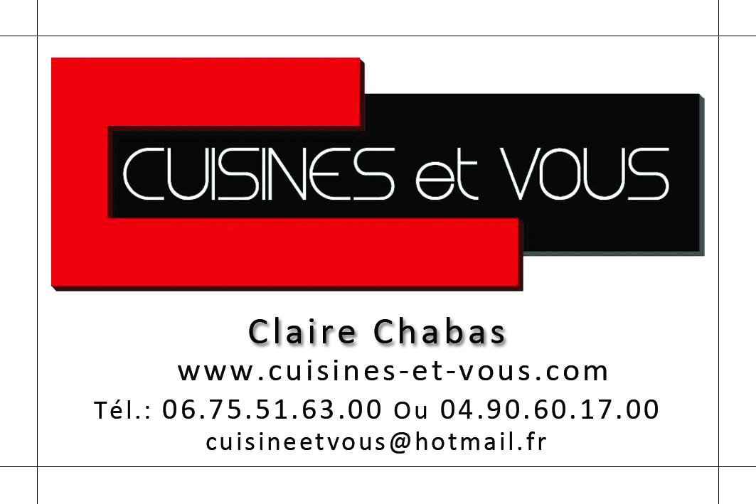 Carte De Visite Finale Pour Cuisine Et Vous