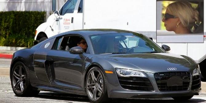 Lady Gaga - Audi R8