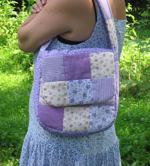 torebka z patchworku