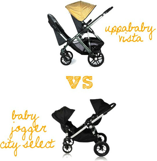 uppababy vs city select