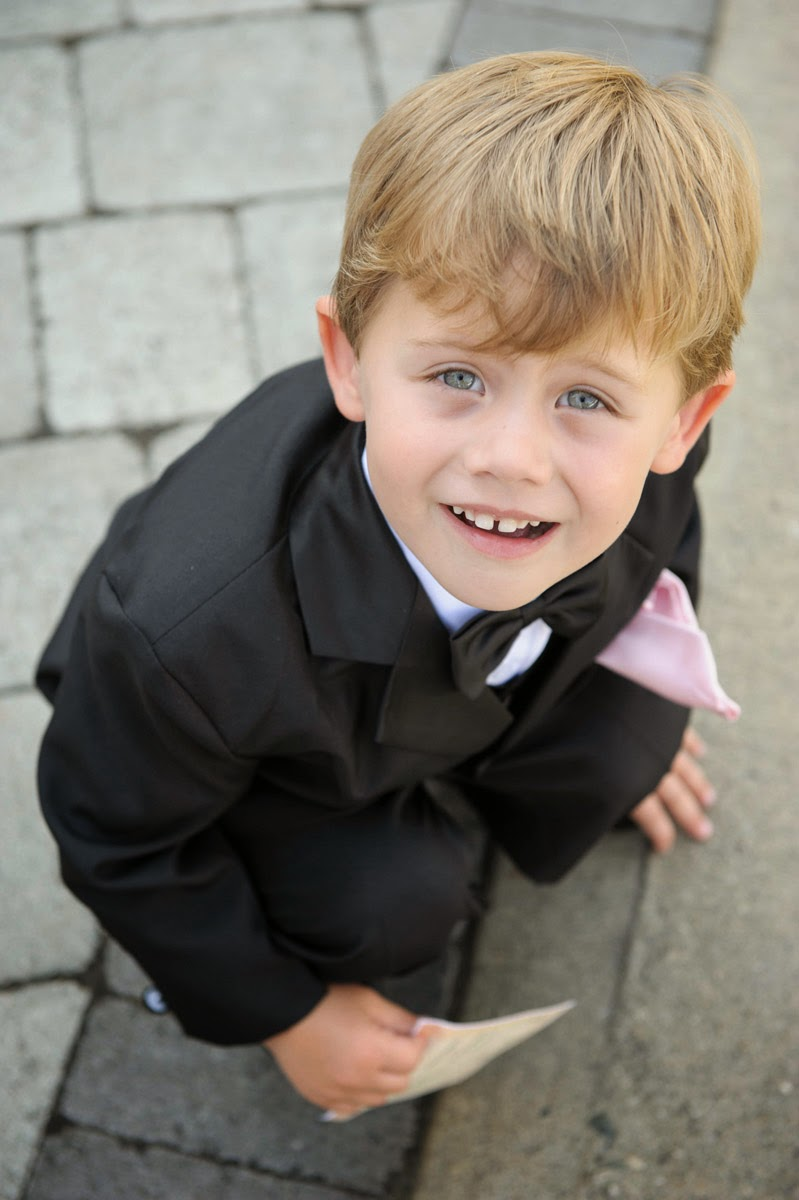 Ring bearer at A Chapel on Swans Trail - Kent Buttars, Seattle Wedding Officiant