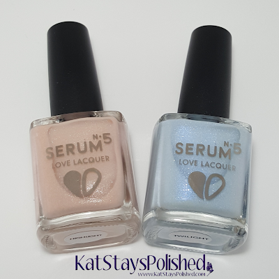 Serum No 5 Highlight & Twilight | Kat Stays Polished