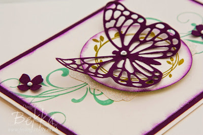 Pretty Butterfly Card for any occasion using Stampin' Up! UK Supplies - get them here