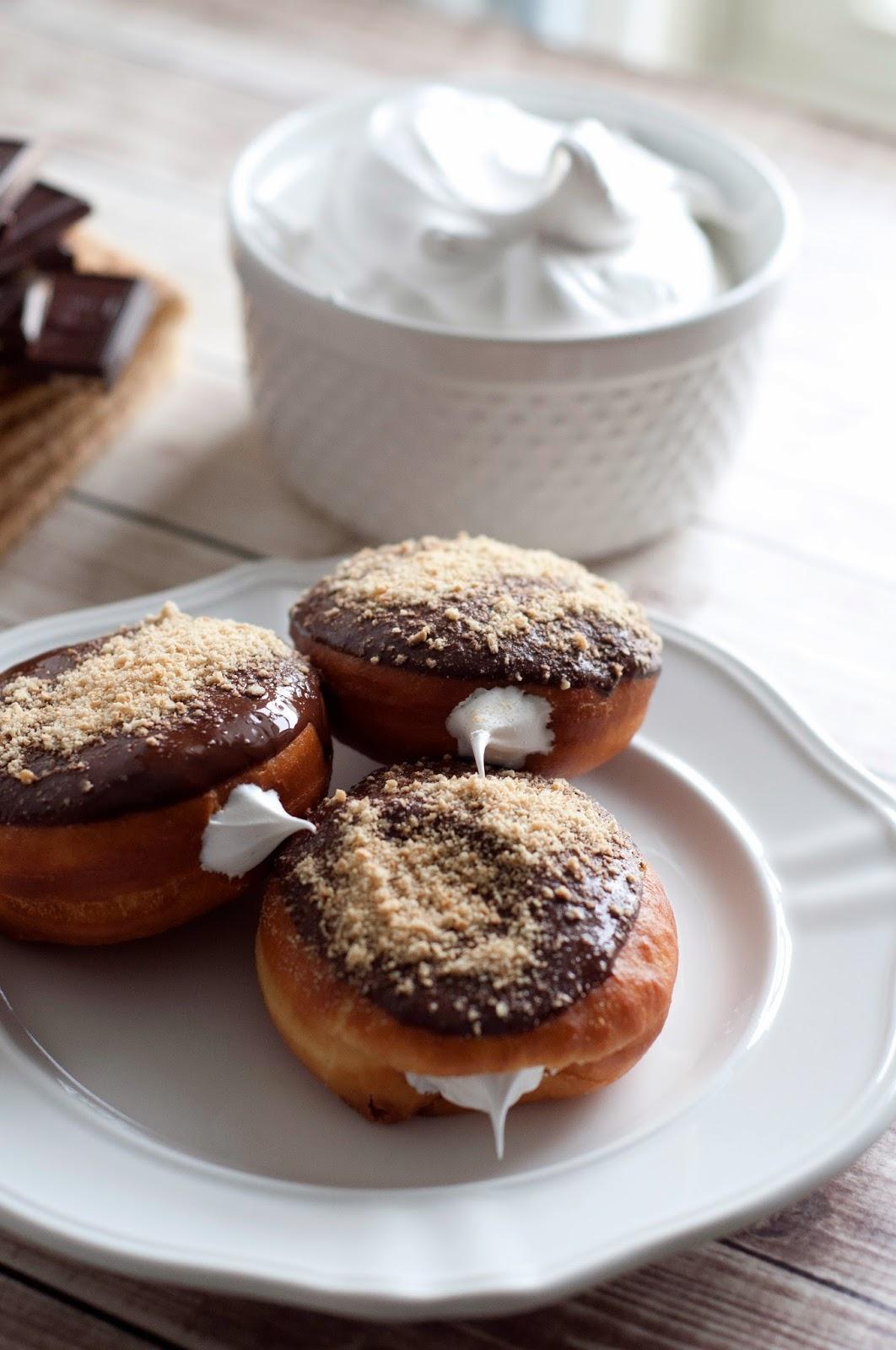 lakyn + judah: s'mores donuts