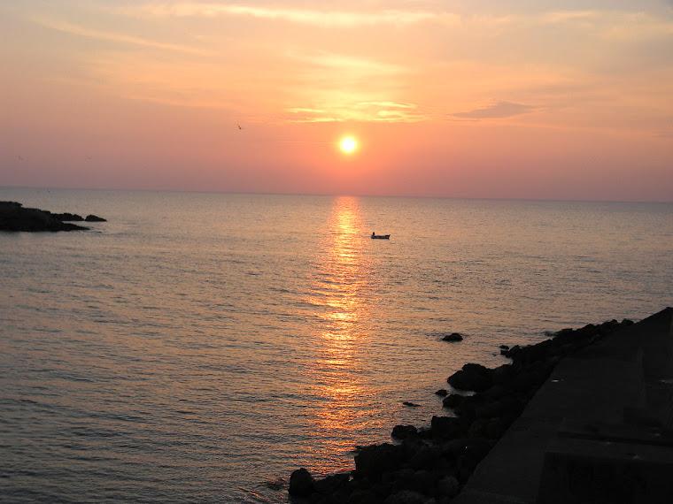Gallipoli tramonto