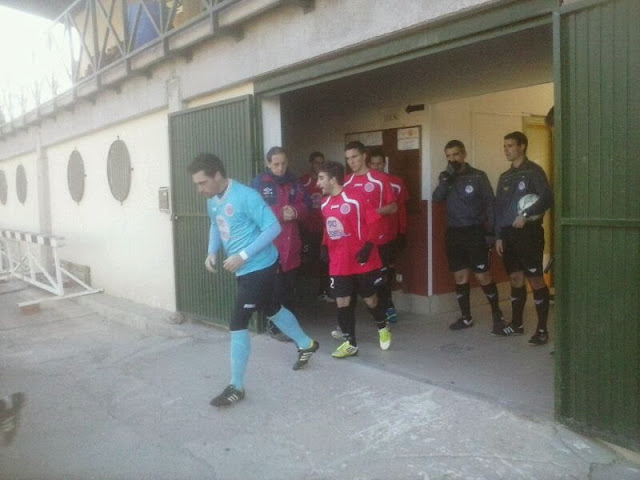 imagenes del partido entrer el BejarIndustrial y LA Gimnastica Medinense