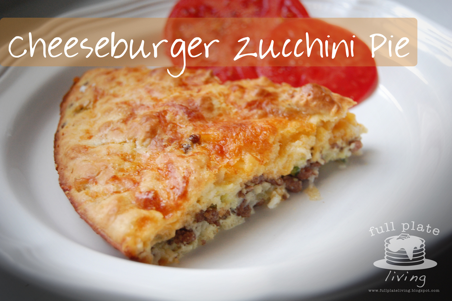 Cheeseburger Zucchini Pie