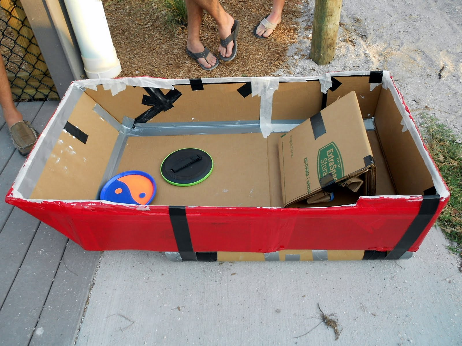 Best Way To Build A Cardboard Boat