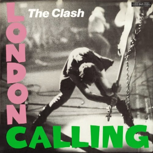 The Clash - London Calling cover