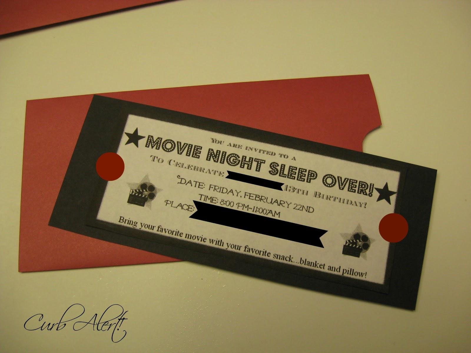 diy party invitations