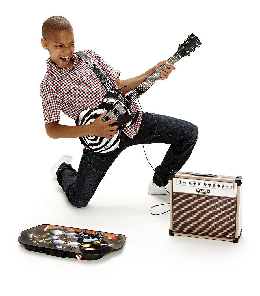 paper jam guitar Paper jamz is the only affordable and innovative play instrumnent that provides an instant rock star experience and open-ended play the creative b.