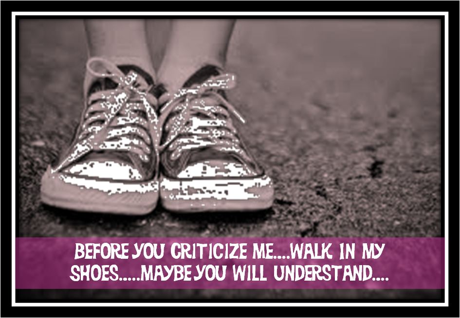 the wonderful words be in my shoes
