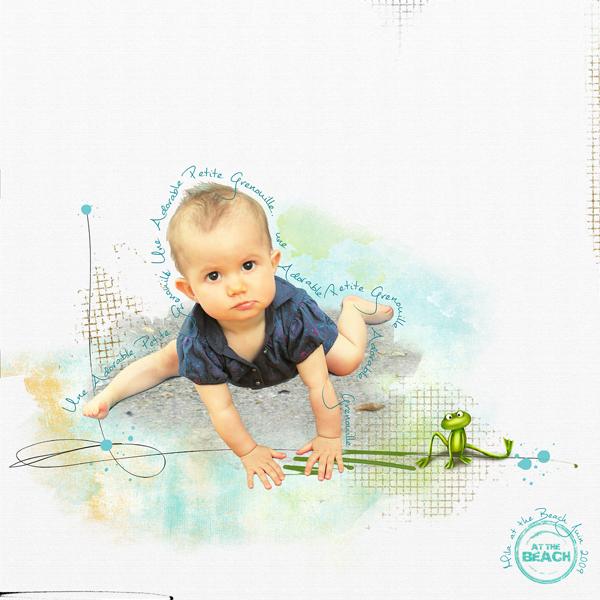 clin doeil Design - Adorable petite Grenouille