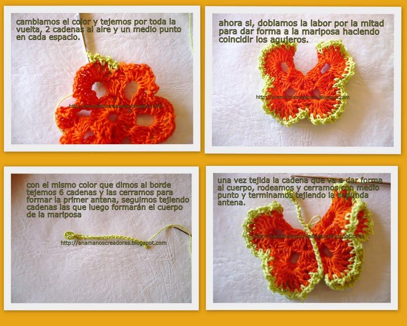 Crochet sólo con paso a paso o video (pág. 11) | Aprender ...