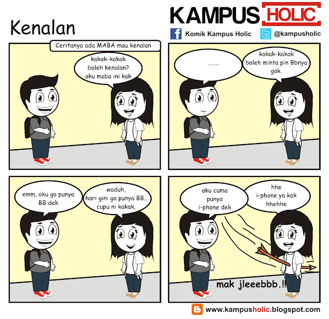 #011 Kenalan mahasiswa yang mak jleb