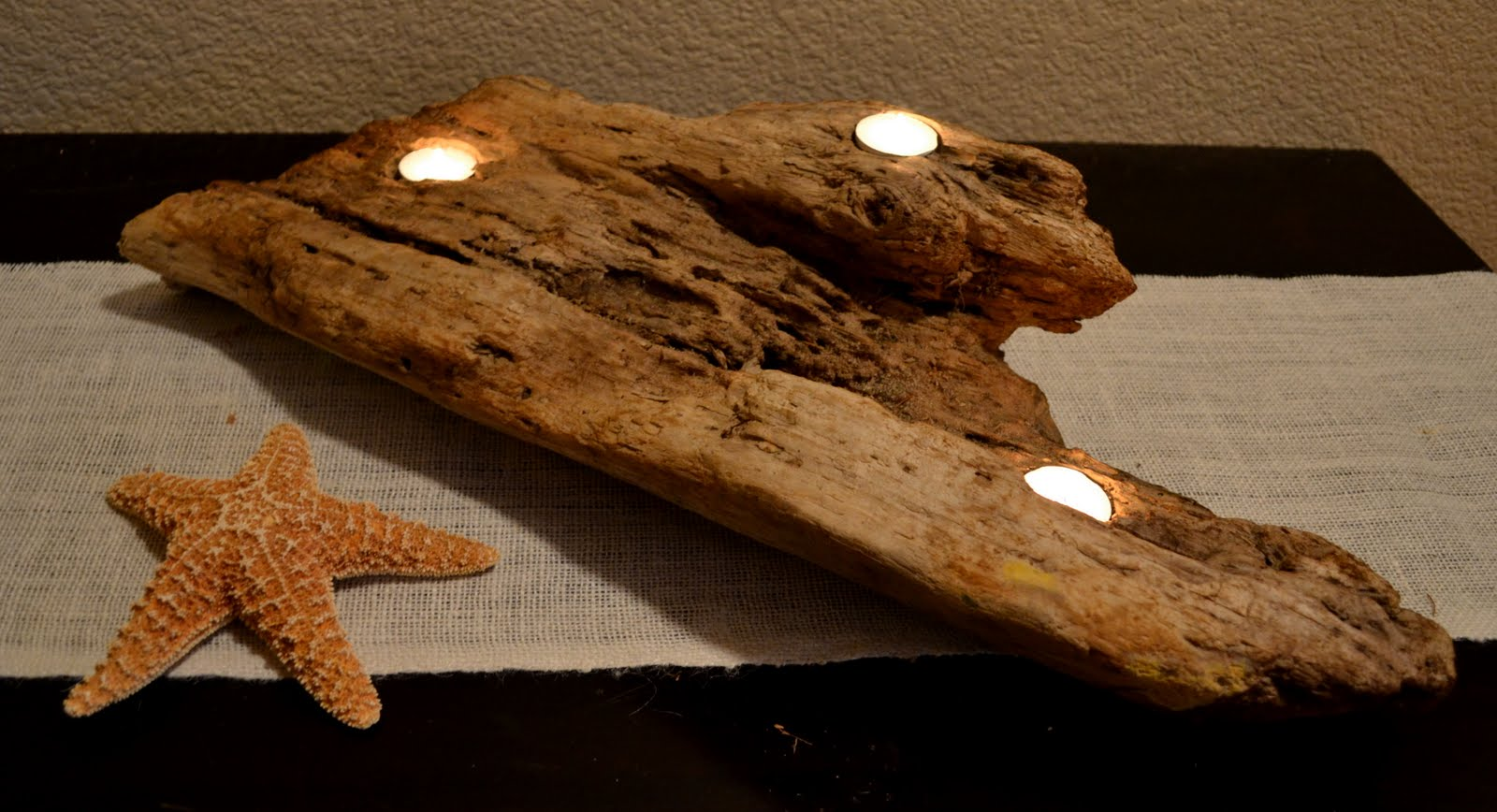 Driftwood Candle Holder Tutorial