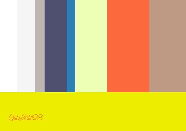 Trendfarben 2013: